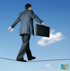 Se você tem medo de correr riscos, procure outra profissão!