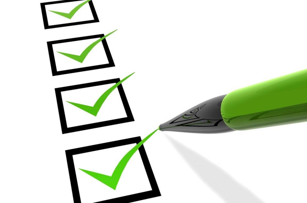monitoramento checklist