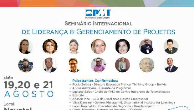 Seminário Internacional de Liderança e Gerenciamento de Projetos em Manaus