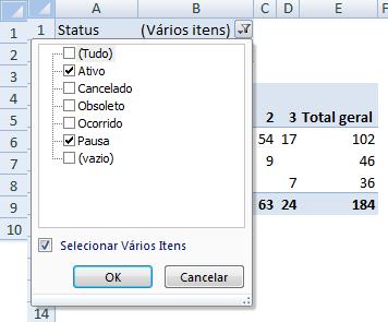 matriz de riscos - PASSO 3