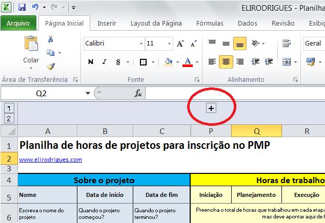 Planilha PMP 1 - AGRUPAMENTO